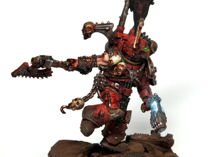 Kharn the Betrayer Conversion Commission (2) Warhammer 40k kharn the betrayer games workshop Forge World commissions