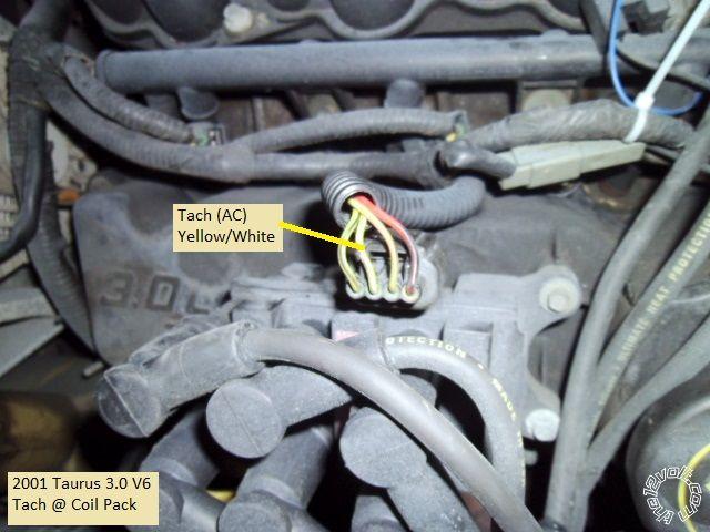 2000-2003 Ford Taurus Remote Start w/Keyless Pictorial