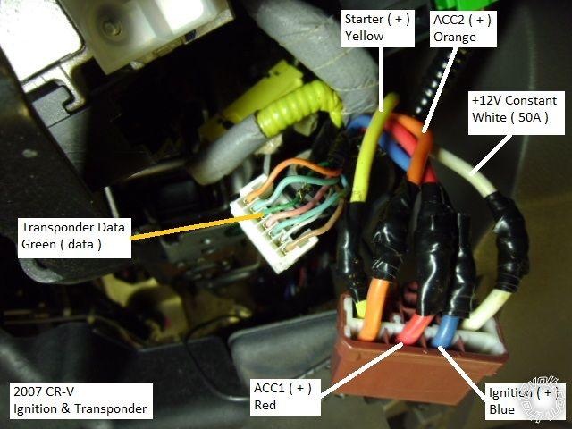 2007-08 Honda CR-V Remote Start w/Keyless Pictorial