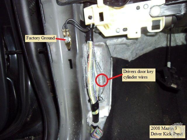 2007-2008 Mazda3 Remote Start Pictorial