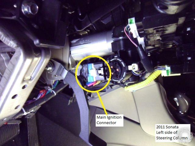 2011 Hyundai Sonata Remote Start w/Keyless Pictorial