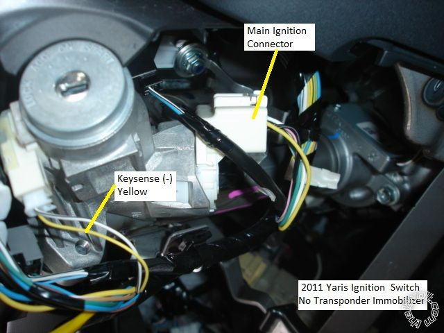 2009-11 Toyota Yaris Remote Starter Pictorial