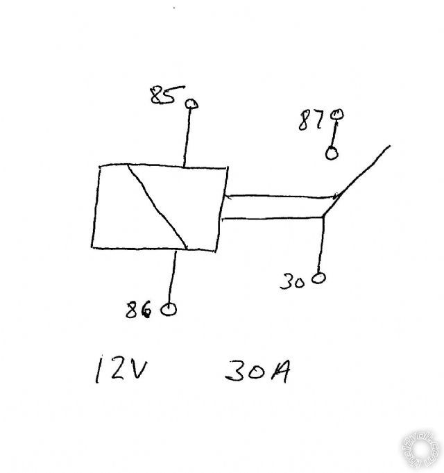 87a Relay Wiring Diagram Control Cables  Wiring Diagram