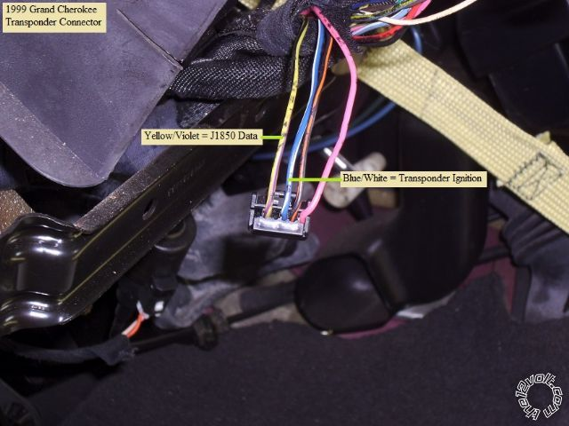 1999-2004 Jeep Grand Cherokee Remote Start Pictorial