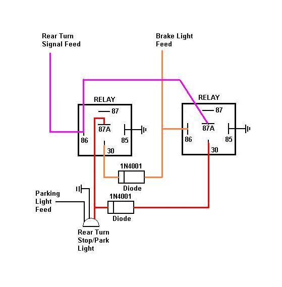 garage spotlights wiring diagram