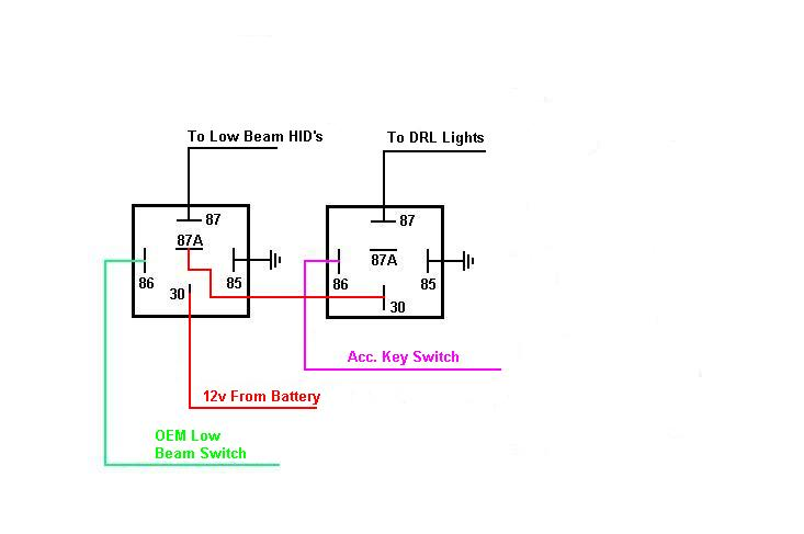 Drl Turn Signal Wiring Free Image About Wiring Diagram And Schematic