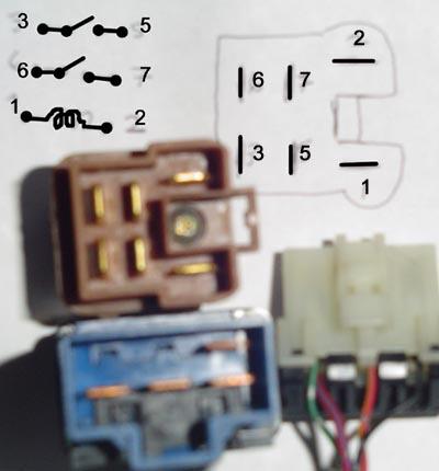Relay Wiring Diagram 6 Pole Wiring Diagram