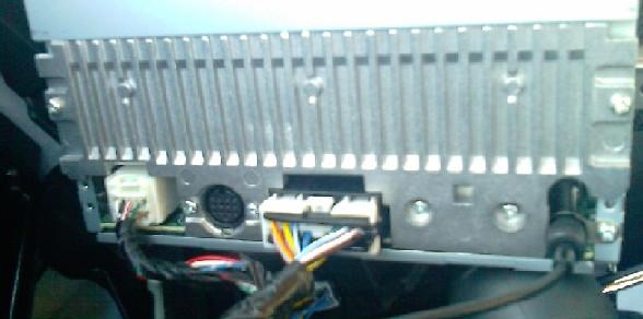 2009 galant sport factory radio wiring?