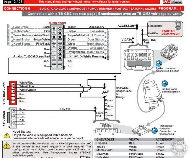 compustar 6200 wiring diagram
