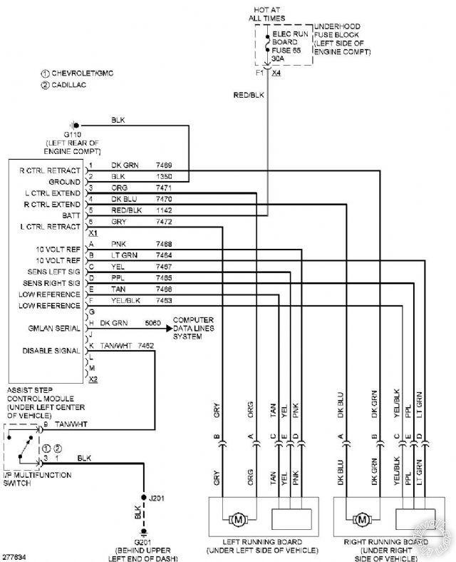 Electric Step Wiring Diagram - Memberddnssch \u2022