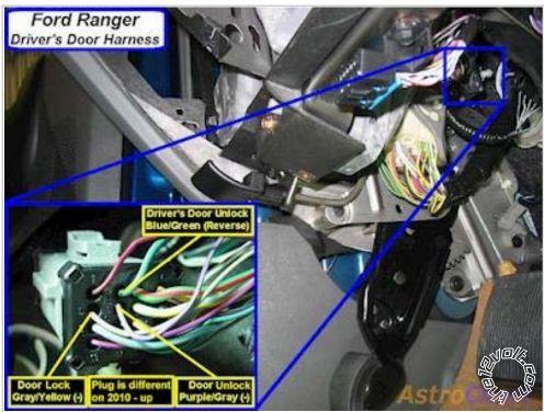 Prostart CT-4211TW  DBALL2, 2008 Ford Ranger