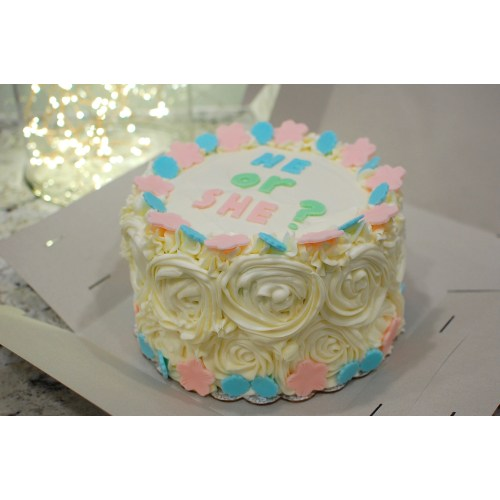 Medium Crop Of Gender Reveal Cake Ideas