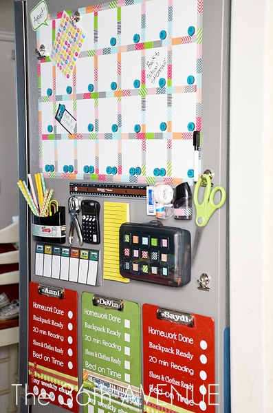 Make a White Board Magnetic Calendar - The 36th AVENUE