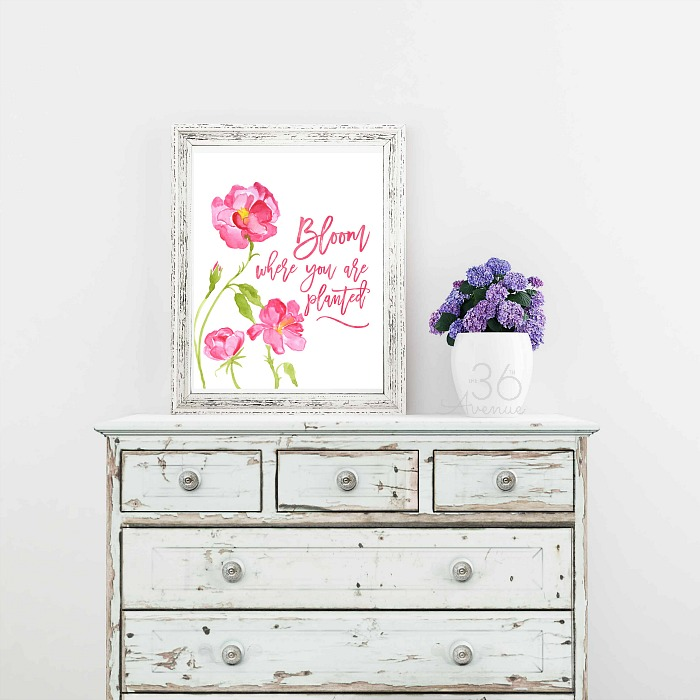 Spring Printable - Easter Decor - The 36th AVENUE