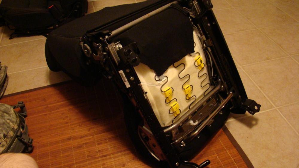 DIY How-To Racing Seat airbag light fix - Nissan 370Z Forum