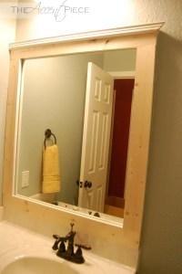 DIY Framed Bathroom Mirror | The Accent Piece
