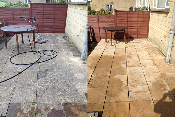 Patio Cleaning Bath The Ace Of Spades Landscape