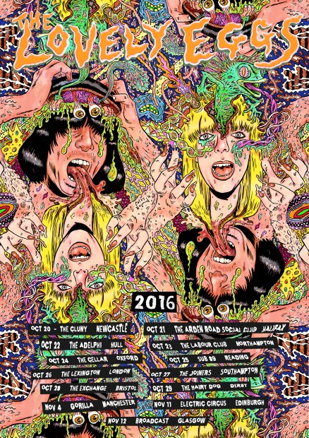 Drug Braggin tour poster