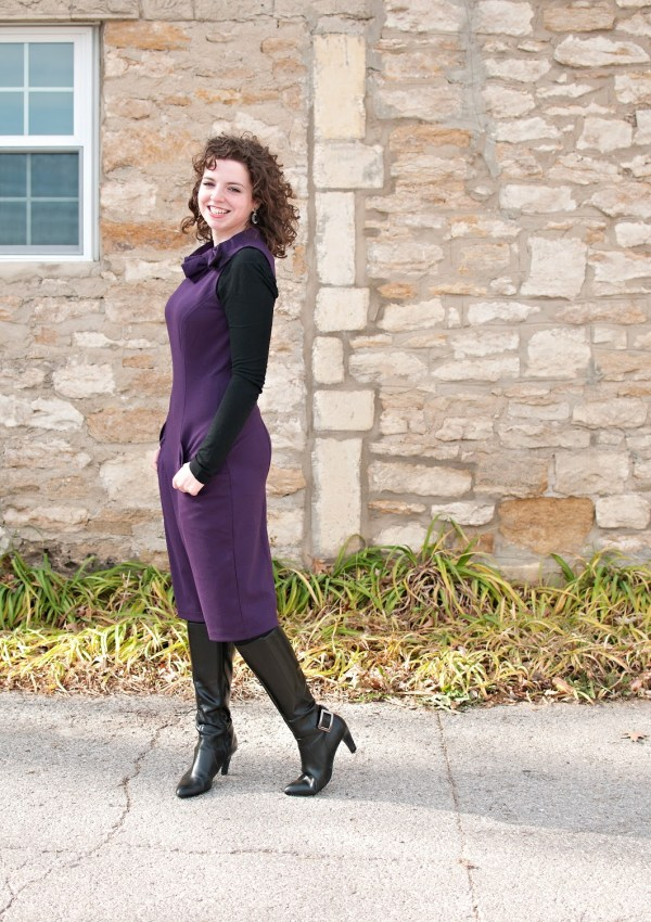 What I Wore: The dress that fits like a glove