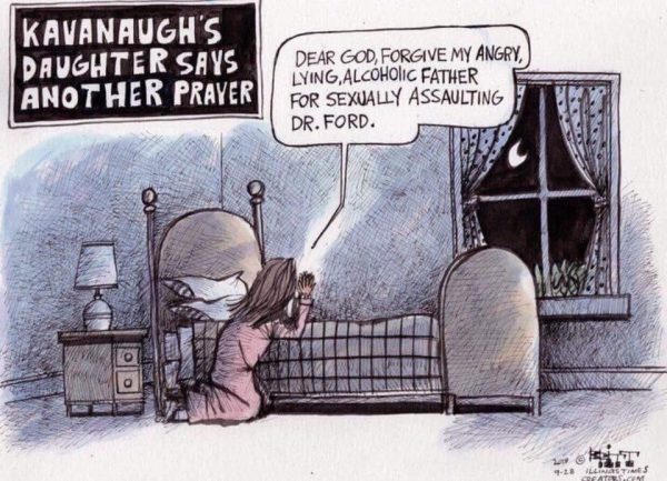 When They Came For Kavanaugh\u0027s Kid The American Conservative