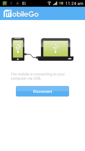 GoMobile Android device Screenshot