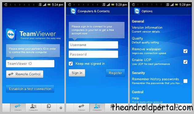 TeamViewer – Control Your Computer From Android