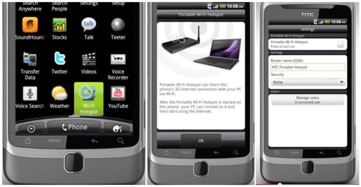 Activate Wireless Hotspot on HTC Z Android Smartphone How to Activate WiFi Hotspot On HTC Desire Z Smartphone