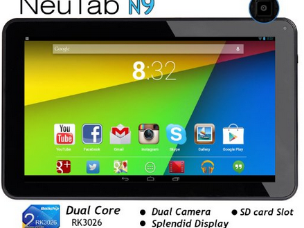 NeuTab N9 Tablet – Best 9 Inch Android Tablet 2014