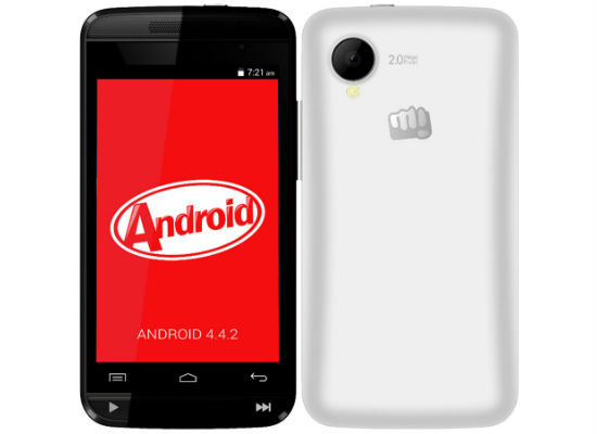 Micromax Bolt A082 with Android KitKat Listed Online for 4,399 INR