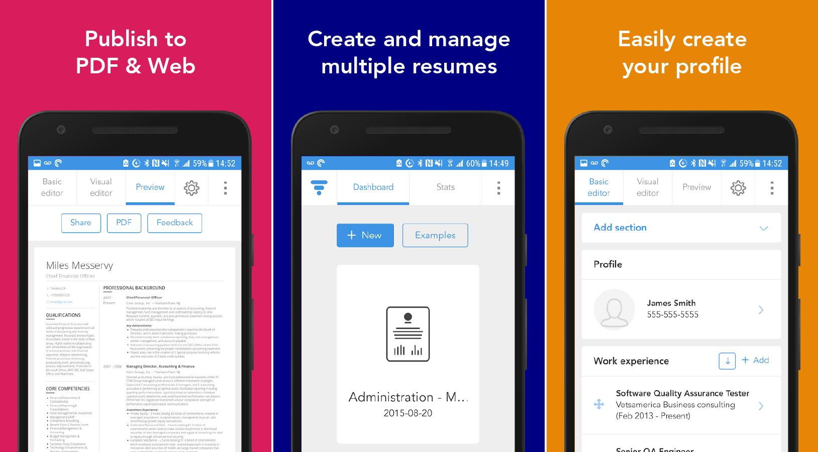 download resume maker for android
