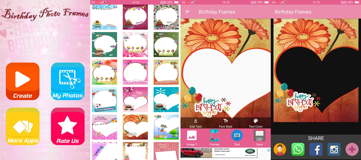 Birthday Card Maker Apps for Android - TheAndroidPortal