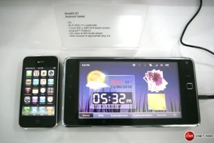 Huawei Smakit S7 along side iPhone