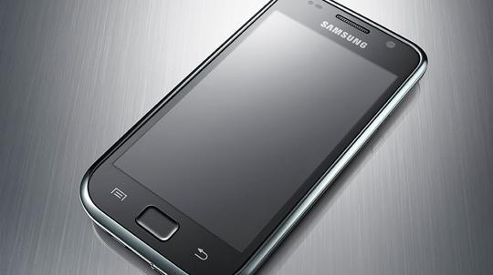 Samsung Galaxy S super AMOLED phone