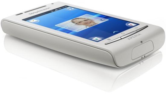 Sony Ericsson X8 Side View