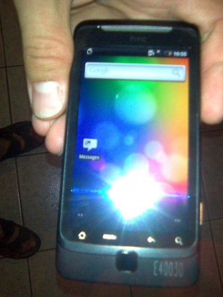 HTC Vision Qwerty phone