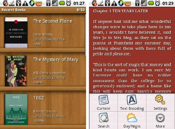 iReader Android app