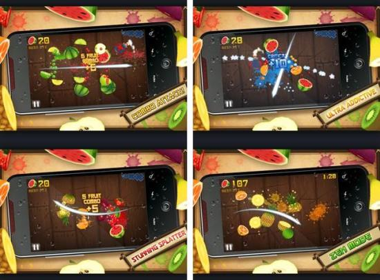 Fruit Ninja arcade game