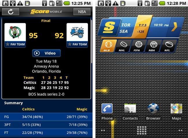 ScoreMobile for Android
