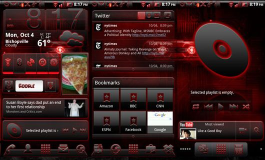 BigDXSerenity Theme For Droid X