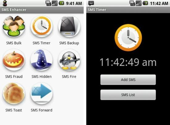 SMS Enhancer Android App