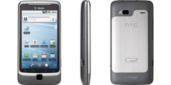 tmobile G2 wifi call tether update
