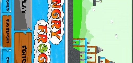 Angry Frogs Android Game