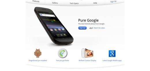 The Google Nexus S Pictures