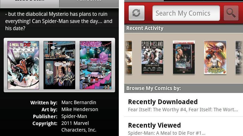 Marvel Comics-App