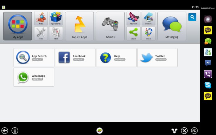 BlueStacks Home