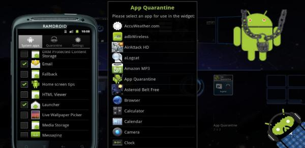 Disable Apps on Android 2.x using App Quarantine Android App