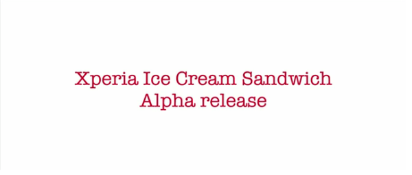 Official Ice Cream Sandwich ROM for Xperia Phones