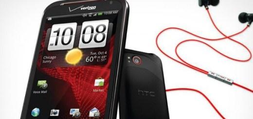 HTC Rezound Ice Cream Sandwich