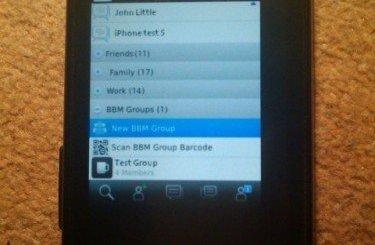 BBM Android Leak