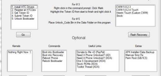 One S AIO Toolkit